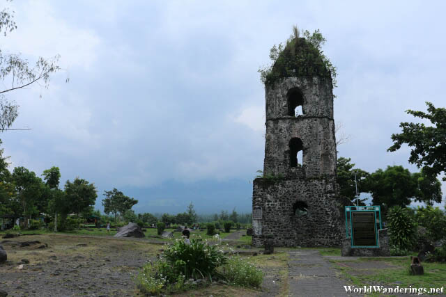 View of Mayon Volcano and Cagsawa?