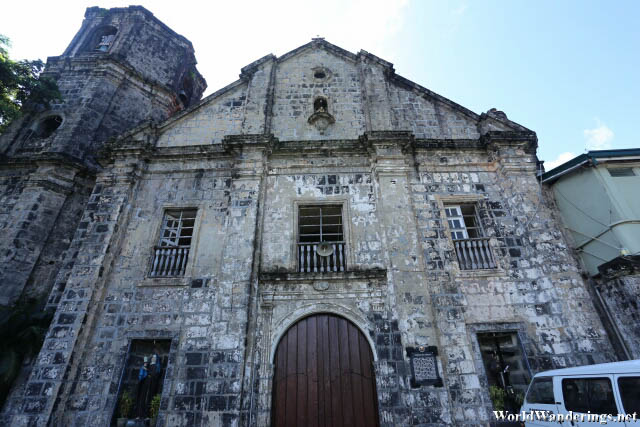Facade of Saint John the Baptist Church in Camalig