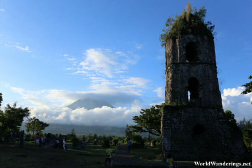 Mayon Volcano at Cagsawa