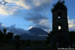 View of Mayon Volcano at Cagsawa