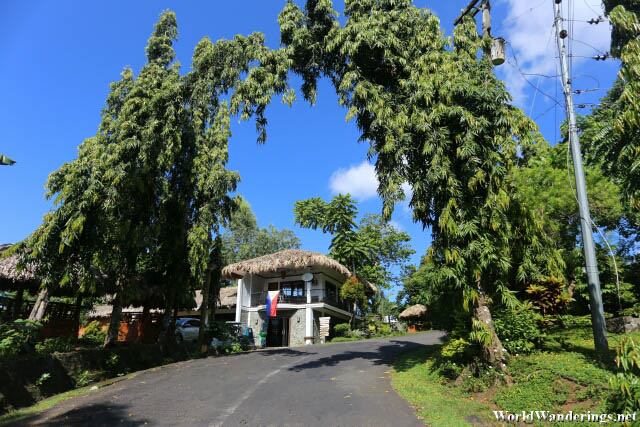 Entrance to Lignon Hill