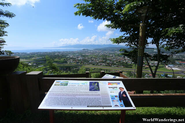 Looking at Legazpi City