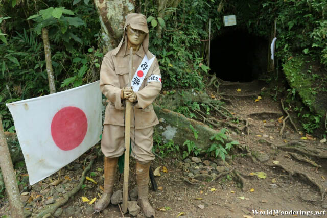 Japanese Soldier Statue at Ligñon Hill