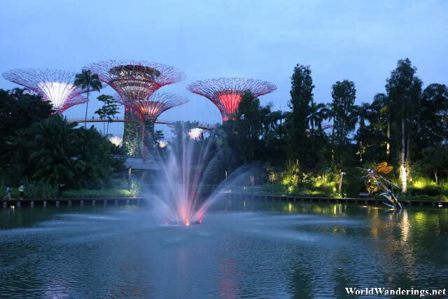 Sunset at the Gardens by the Bay