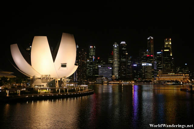 ArtScience Museum at the Marina Bay Sands