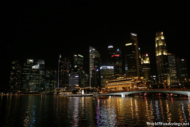 The New Central Business District of Singapore