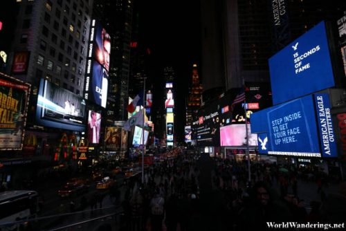 The Bright Lights of Times Square