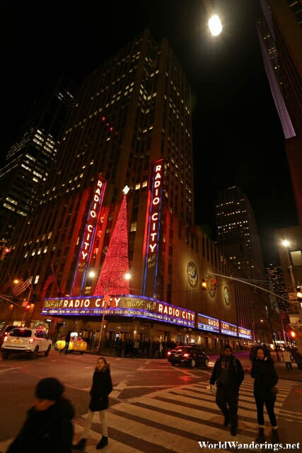 Radio City at Night