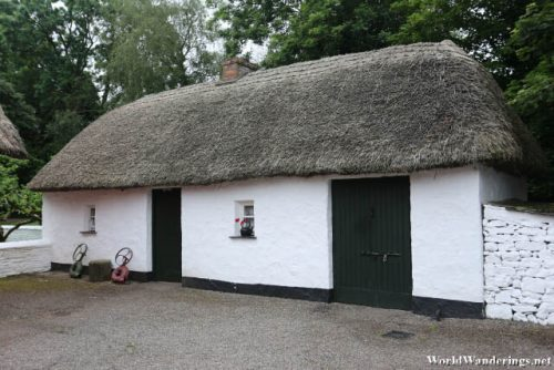 Nice Hut at in Bunratty Castle and Folk Park