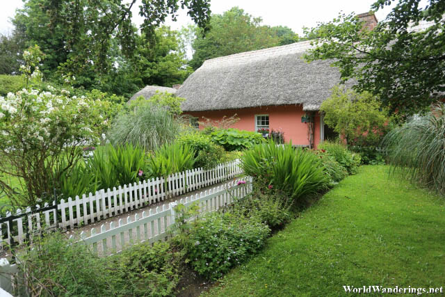 Lovely Thatched Cottages at the Bunratty Folk Park