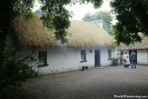 Thatched Cottage at the Bunratty Folk Park