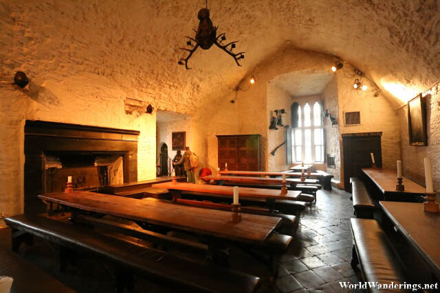 Banquet Hall at Bunratty Castle