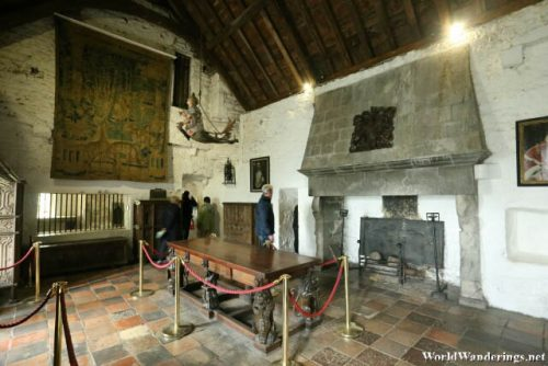 Another Hall in Bunratty Castle