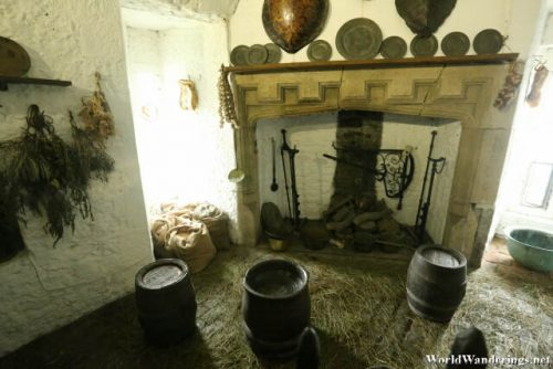 Storage Area at Bunratty Castle
