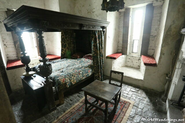 Bedroom at Bunratty Castle