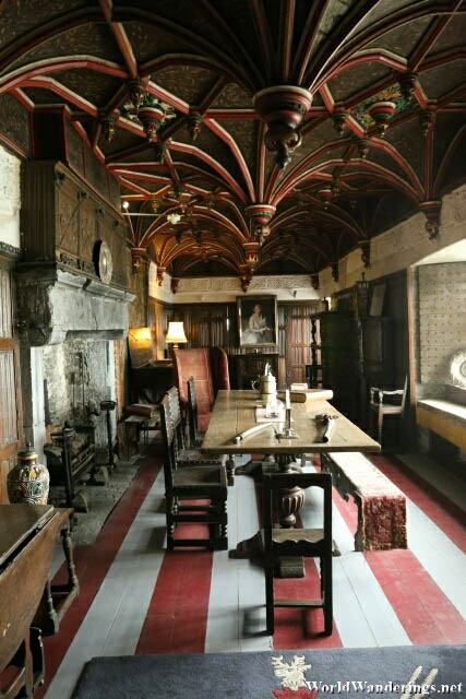Beautiful Room at Bunratty Castle