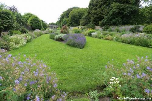 Flower Garden at Bunratty Folk Park