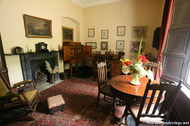 Sitting Room at Bunratty House