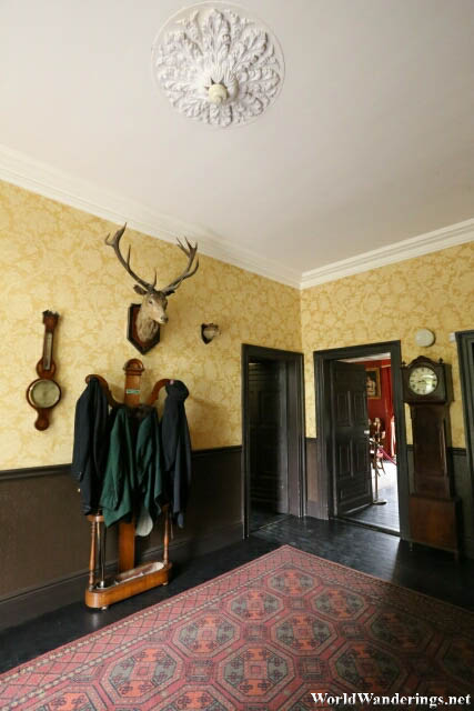 Entrance at the Bunratty House