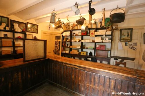 Post Office at Bunratty Folk Park