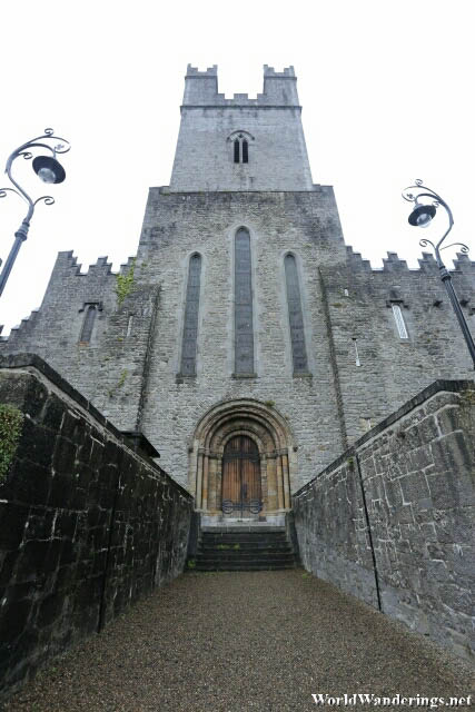 In Front of Saint Mary's Cathedral in Limerick