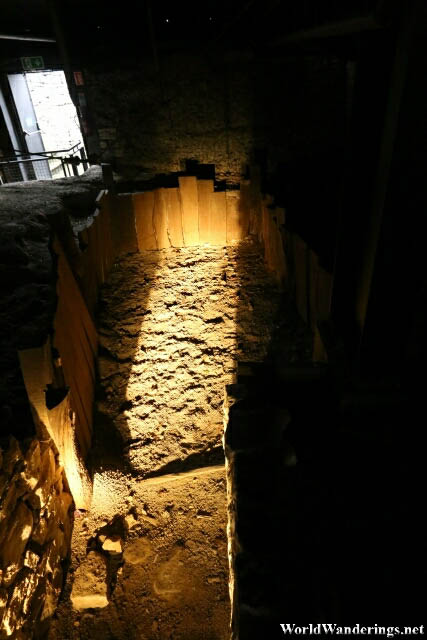 Pre-Norman Excavations at King John's Castle